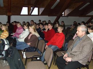 Diskusia na Gymnáziu v Stropkove