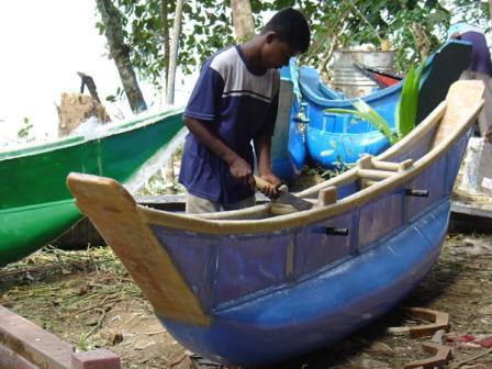 Výroba nových člnov