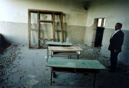Škola v Glavičici pred rekonštrukciou