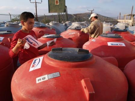 Distribúcia nádrží na vodu