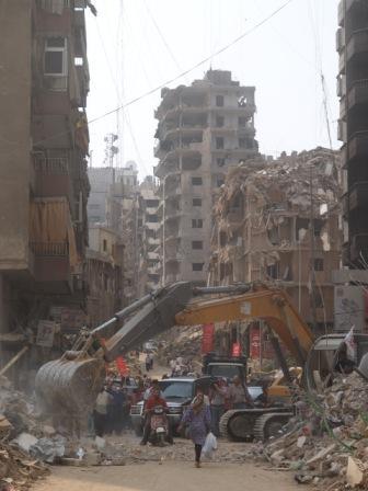 Zničené mesto