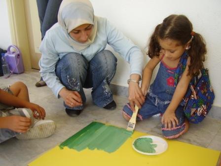 Práca s libanonskými deťmi