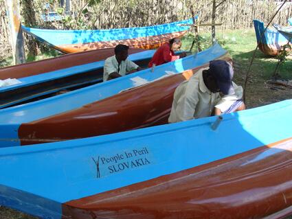 Nové rybárske člny