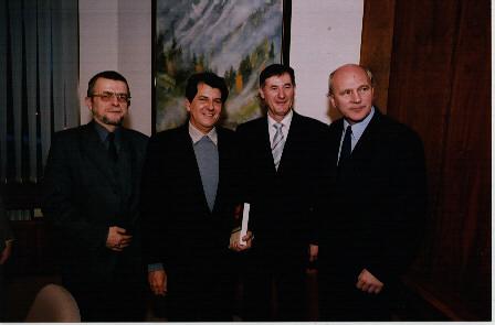 Oswaldo Payá so slovenskými politikmi