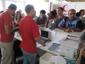 Registrácia libanonských utečencov v Sýrii