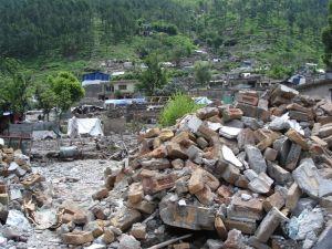 Počas zemetrasenia bol Balakot takmer celý zničený