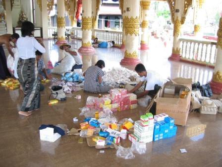 A. Novak: Distribúcia liekov v juhozápadnej časti delty, máj 2008
