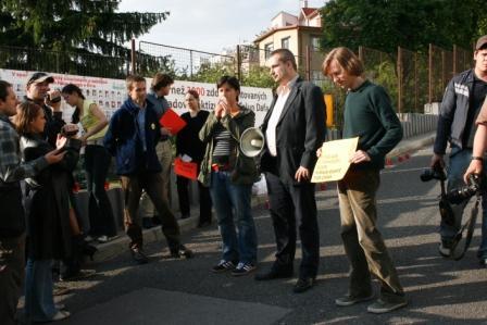 Prejav Gabiky Šuvadovej za OZ Človek v ohrození