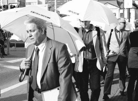 Pedro Pablo Alvaréz Ramos na pochode