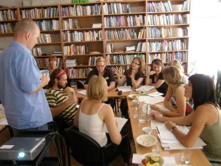 Tretí tréning s Marekom Štýsom z organizácie Člověk v tísni z Českej republiky