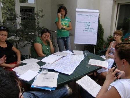 Tretí tréning - práca v skupinách