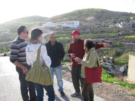 stretnutie s organizaciou CPT v Tuwani - februar 2010
