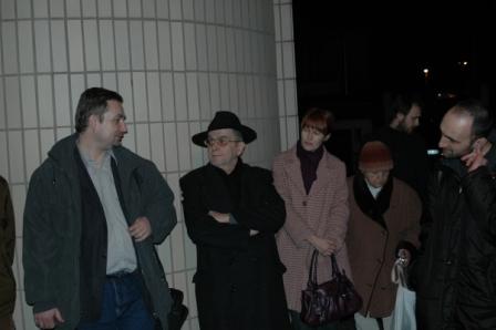 účastníci spomienkovej akcie