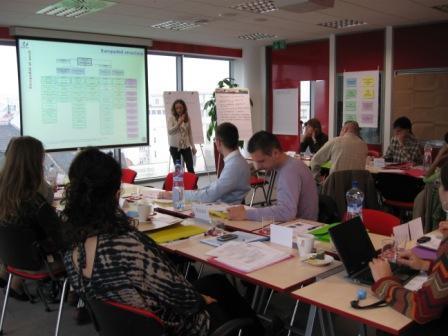 S. Baroud, SR, november 2009: Seminár na tému písania projektov na EuropAid