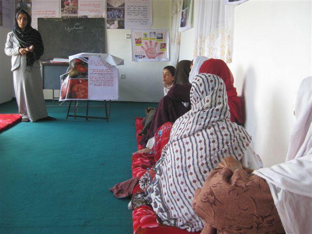 M. Ondeková, Afganistan, máj 2010: Školenie zamerané na zefektívnenie domácej poľnohospodárskej produkcie