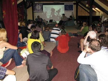 Diskusia o Gaze, čajovňa Únik, Bratislava