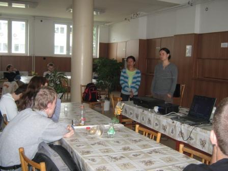 Diskusia so študentmi SOS na Mokrohájskej, BA