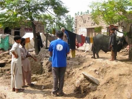 K. Ali Shah, október 2010, Pakistan: Zisťovanie informácií o zdravotnom stave v Banda Malakhan