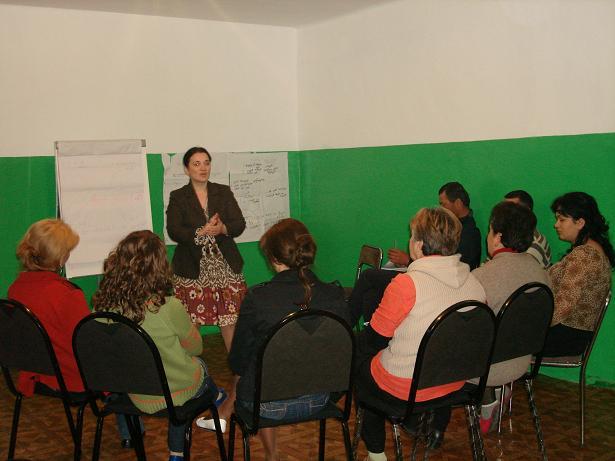M. Radváková, Gruzínsko, júl 2010: Tréning komunitnej participácie v Gardabani