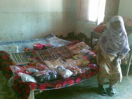 K.Ali Shah, Pakistan, 2010: BiBi Aisha v jej obchode