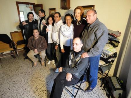 M. Horák, Španielsko, december 2010: Obdarované rodiny vo Valencii