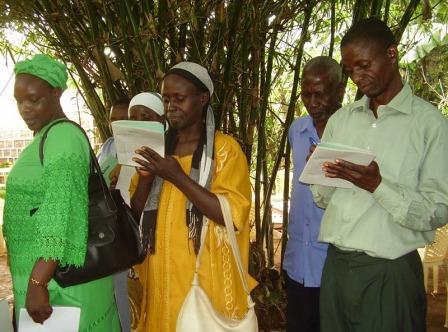 E. Bednárová, Keňa, 2010: Školenie na pestovanie banánov