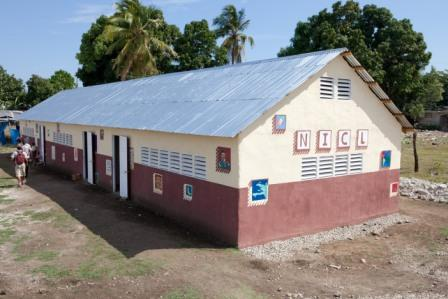M. Sliacka, Haiti 2011, Druhá škola ČvO