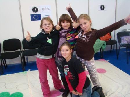 Workshop Ekočloveče na veľtrhu Bibliotéka - Pedagogika - november 09