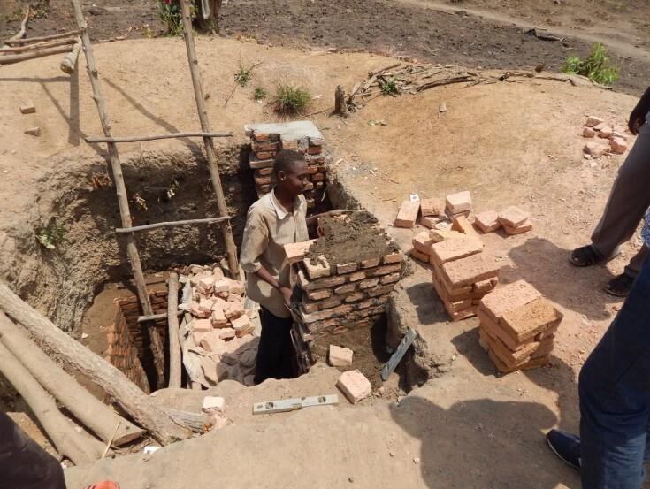 studna mur