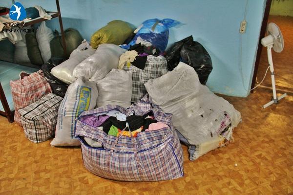 Humanitarna pomoc pre Ukrajincov z Donbasu 4