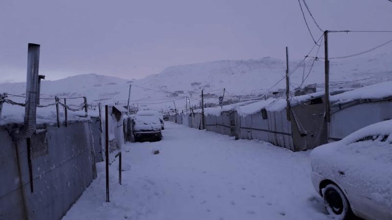 Libanon zasiahla búrka Norma